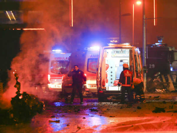 Blasts in Istanbul stadium and park 'kill at least 13'
