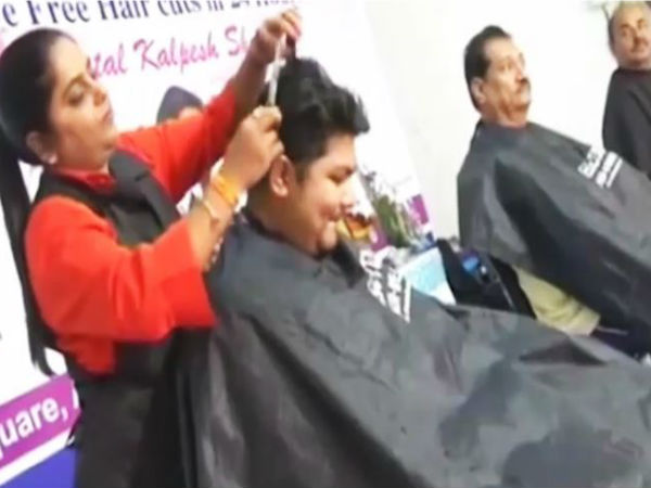 Surat-based hairdresser sets the Guinness record most haircuts in 24 hours