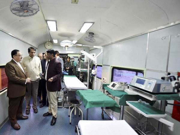 World's First Hospital Train, Lifeline Express