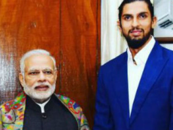 Star Player Ishant Sharma Invites PM Modi for his marriage, Video