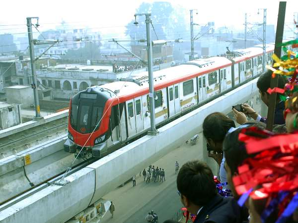 lmrc trial run in lucknow