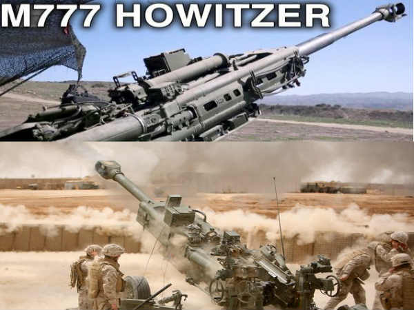 India-US sign Rs 5,000 cr deal for 145 M777 howitzer guns
