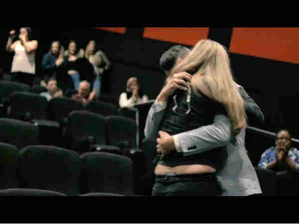 amazing way to propose girlfriend: romantic boyfriend propose girl with movie trailer