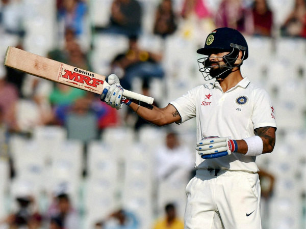 Virat Kohli insulted by James Anderson after hitting double century, See Video