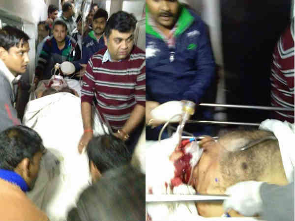 Dr.AK Bansal shot at in Jeevan Jyoti Hospital in Allahabad, referred to PGI in critical condition