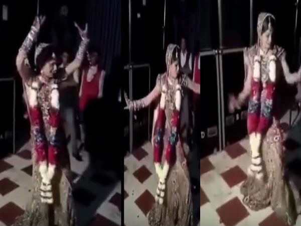 Another Video Of A Dancing Bride Is Trending. We Don't Know Why