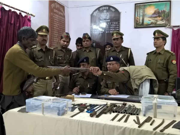Police busted illegal arms factory in Bulandshahr