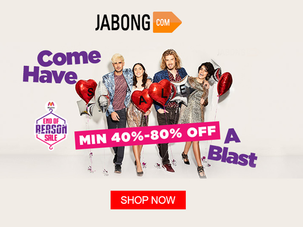 Use oneindia discount coupons and shop with Jabong.