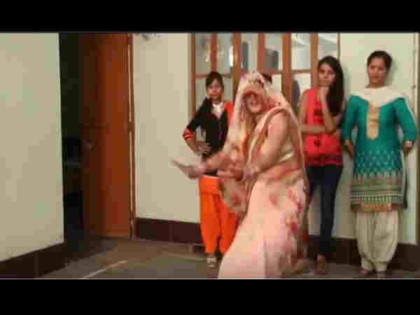 Dance video of haryanvi bride goes viral on social media
