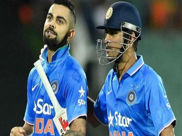 Mahendra Singh Dhoni gifts Virat Kohli, a 'signed match ball' for ODI series triumph over England