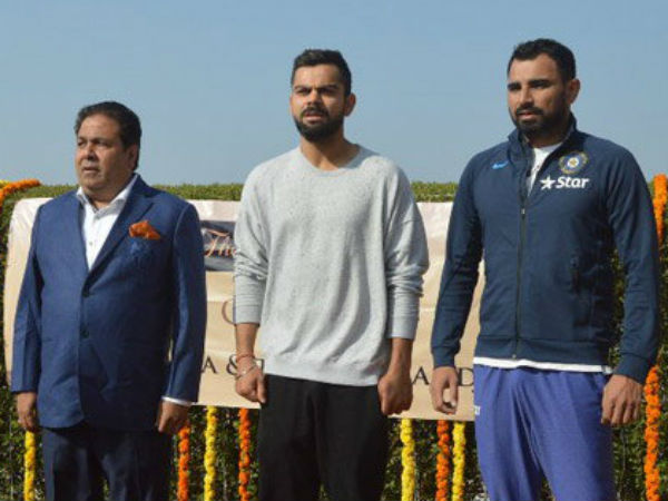 T20: IPL chief Rajeev Shukla, Virat Kohli and Mohammad Shami in Republic Day celebrations in Kanpur. here  is  pictures.