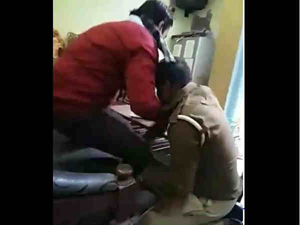 Police looted businessmen on the name of code of conduct, Video goes viral