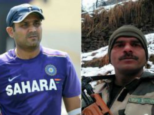 BSF Jawan gets support from the sports fraternity; Virender Sehwag, Vijender Singh and others react
