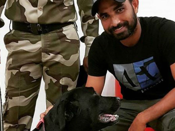Mohammed Shami trolled once again, this time for posting 'Unislamic' image with dog