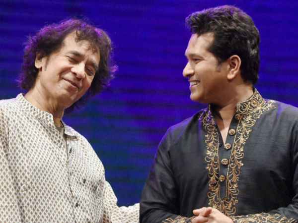 WATCH: Video of Sachin Tendulkar's jugalbandi with Zakir Hussain is winning hearts on social media