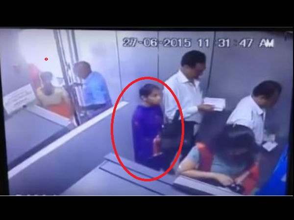 CCTV footage of woman robbing man in ATM goes viral!