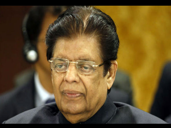 IUML MP E Ahamed passes away, he was rushed to the hospital yesterday