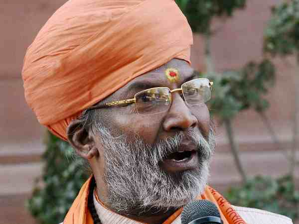 bjp leader sakshi maharaj attack on supreme court regarding verdict on SC ST act
