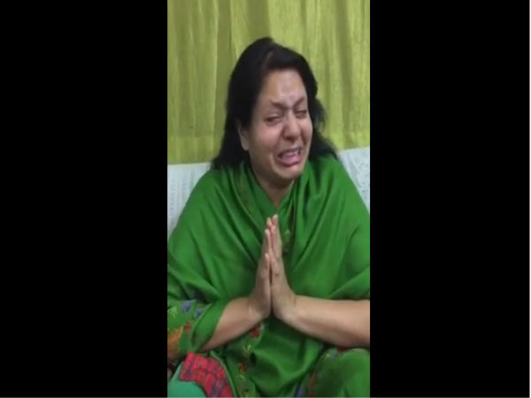 VIRAL VIDEO: Sara Singh's mother cries, appeals to public not to vote for 'murderer' Amarmani Tripathi's son Amanmani