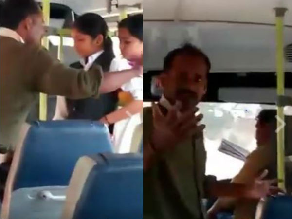 Watch: Kerala man enters college bus, abuses, assaults female student