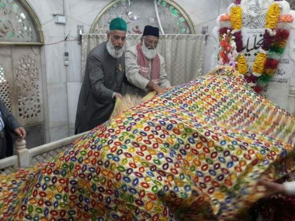 two clerics from Delhi's Hazrat Nizamuddin Dargah, Asif Nizami and Nazim Nizami who have gone missing in Pakistan
