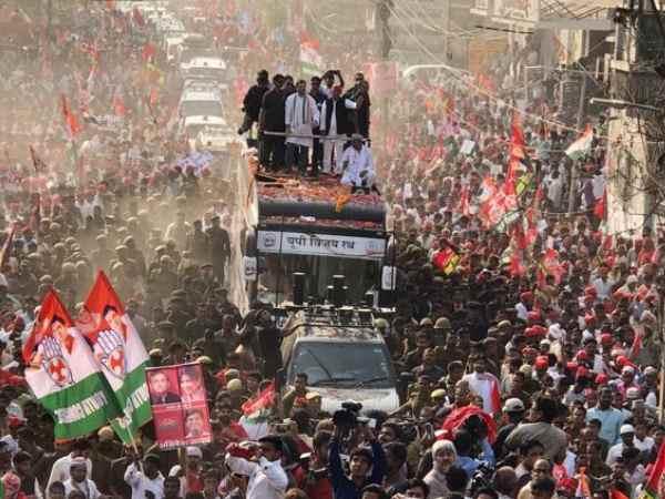 Bjp Sp Congress Spporters Fight Varanasi
