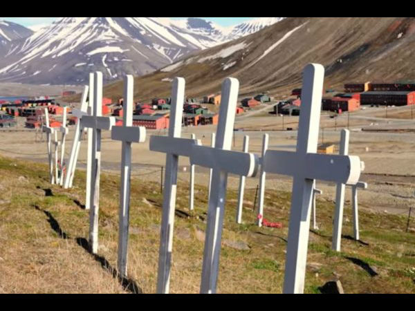 people are banned from dying in Longyearbyen