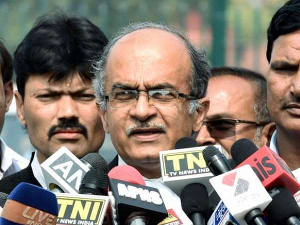 Prashant Bhushan approaches Supreme Court against M Nageswara Raos appointment as interim director of the CBI