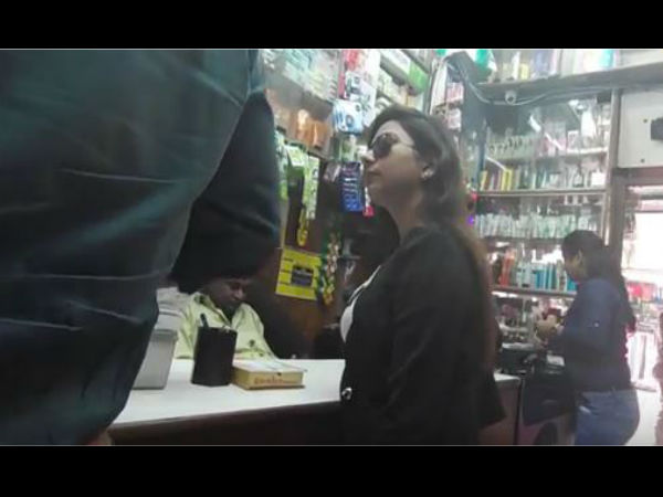 social media viral Video: Watch people reaction when girls buying condom