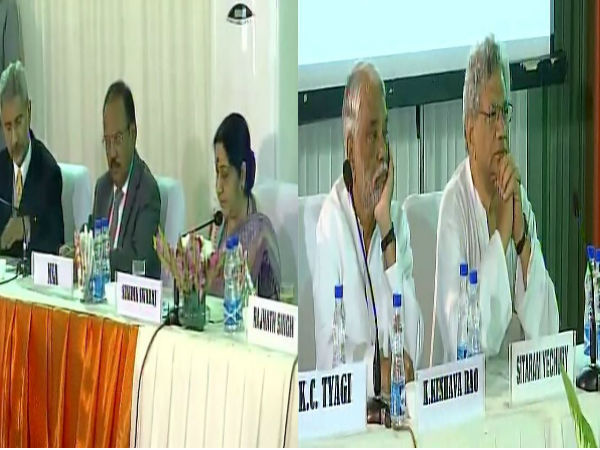 Opposition parties' meet jointly held by EAM Sushma Swaraj on border issue