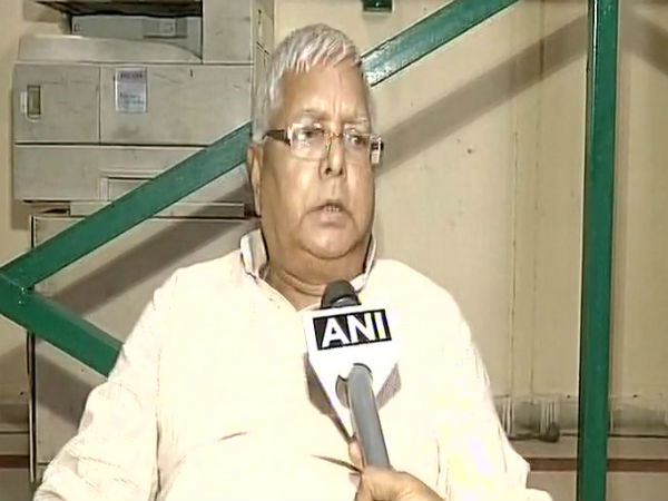FIR is not sufficient reason for the resignation: Lalu Prasad Yadav on Tejashwi Yadav