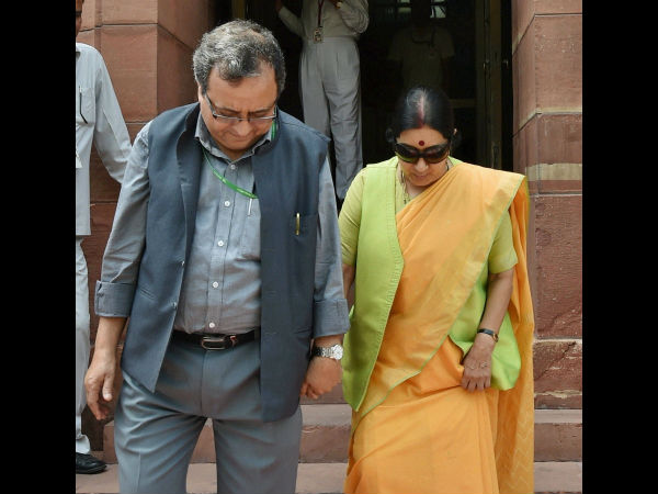 Nothing like marital rape: Controversial tweet by Sushma Swaraj's husband sparks Twitter outrage