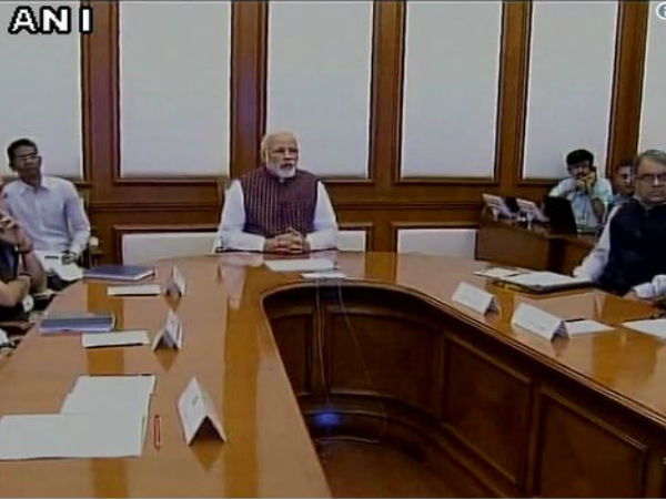 "PM Modi addressed DM across the country on the theme of ""New India – Manthan"
