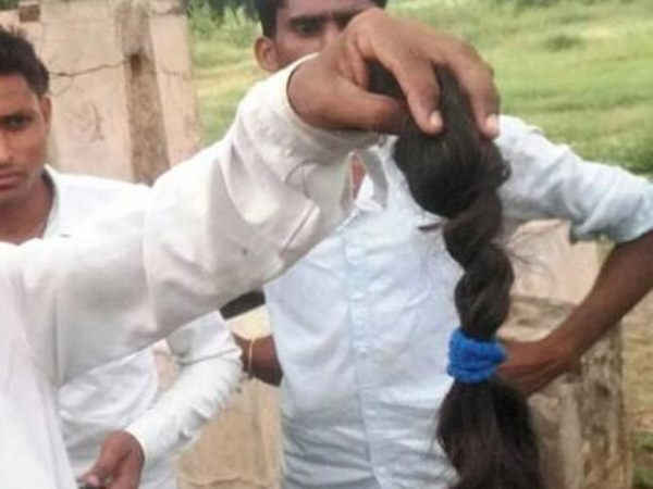 a man beard cut in night in rampur