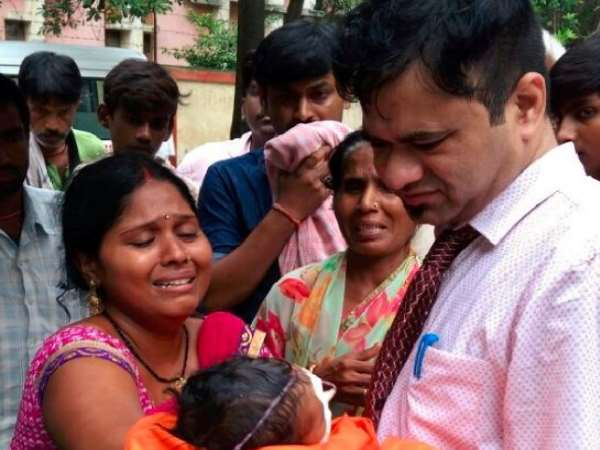 up government claim that no clean cheat to dr. kafeel in oxygen gas tragedy