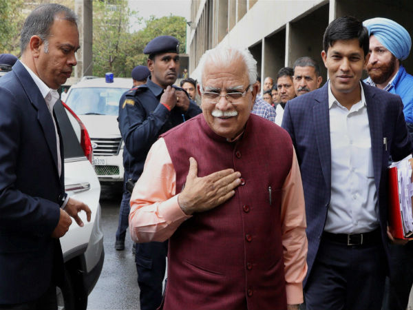 Namaz should be read in mosques rather than public spaces, says Manohar Lal Khattar.