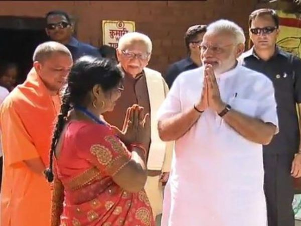 PM Narendra Modi Varanasi Visit Pictures of second day