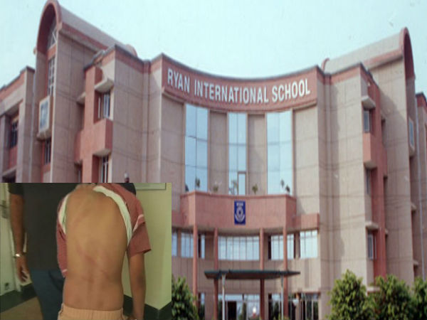 Ryan International School: Class 4 student allegedly beaten by 2 teacher complain lodged