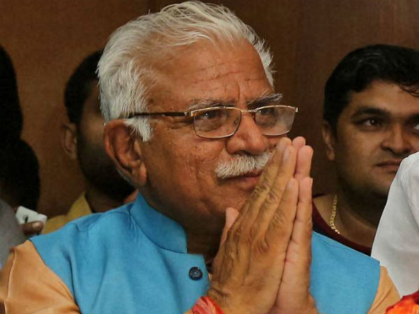 Cyclone Ockhi: Haryana CM Manohar Lal Khattar donates 2 crore to PM relief fund