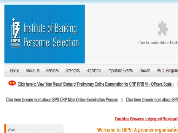 IBPS RRB Officer Scale 1 Prelims 2017 Results