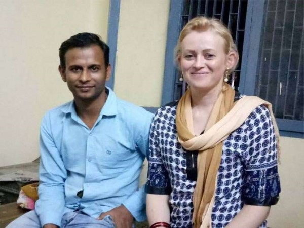 brazilian lady reached to india to meet boy friend at haryana