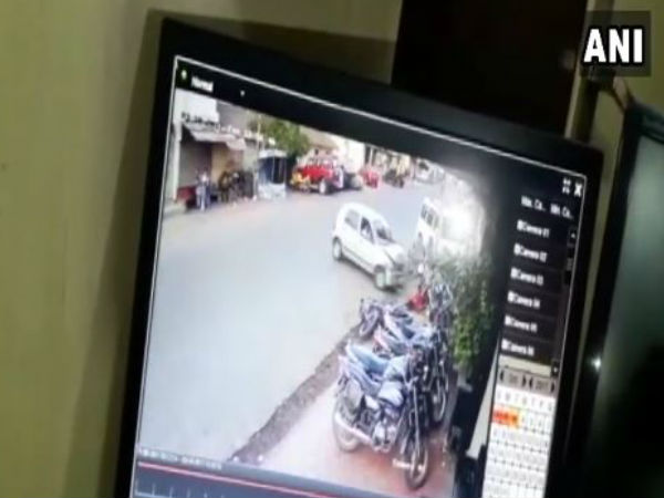 WATCH: Speeding car rams into pedestrians in Bhopal,2 women and child critically injured
