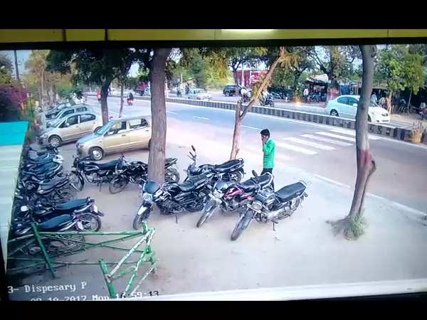 Viral Video of a CCTV from Hapur