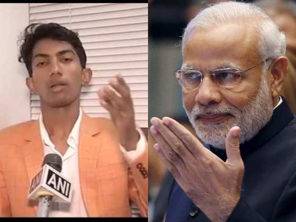 watch shyam rangeela the great indian laughter challenge video on modi mimicry