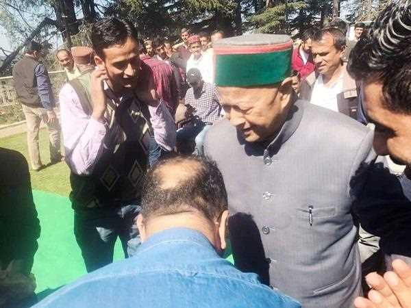 Virbhadra Singh comment on Anil Sharma who joined BJP in Himachal
