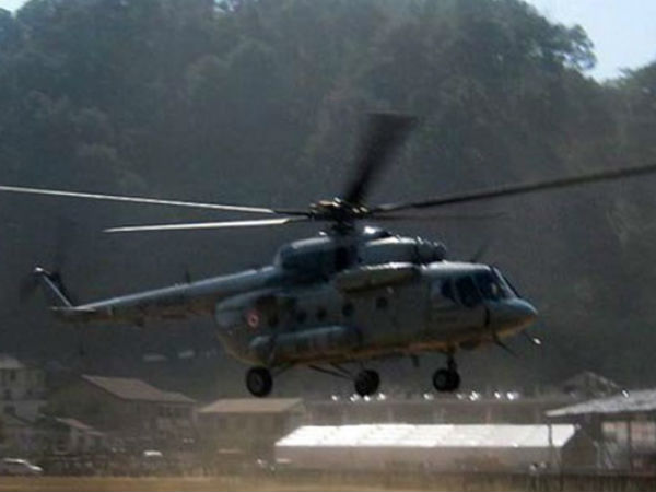 Helicopter Crash in Arunachal Pradesh