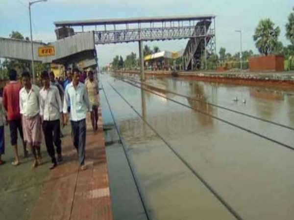 Munger-Bhagalpur rail root disturbed, Three express been stopped