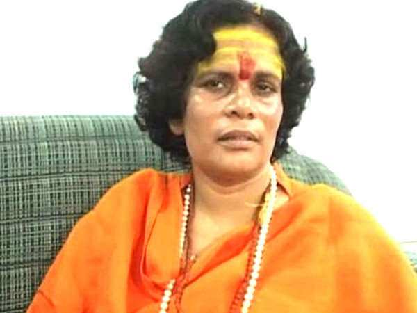 Controversial comment of Sadhvi Prachi on namaz in Allahabad