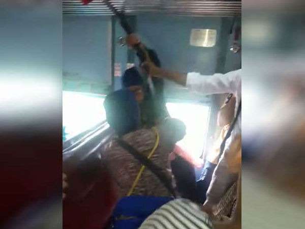 Man used sword to get seat in Nanded Express Train