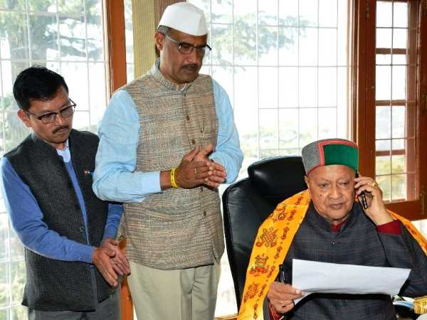 Virbhadra Singh laid foundation before election code of conduct